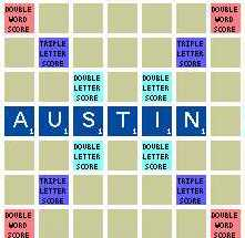 Austin Scrabble Club logo